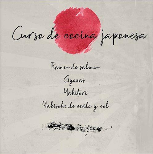 Curso de cocina japonesa en Madrid