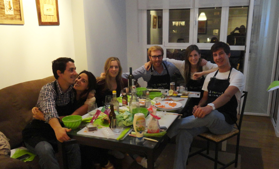 Sushi Cooking Party en Madrid