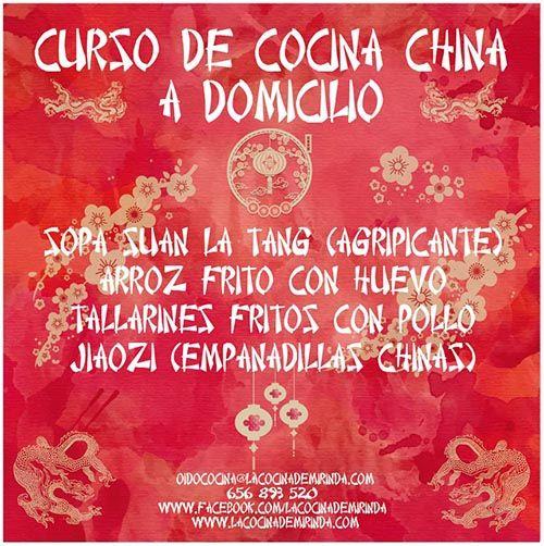 curso cocina china madrid