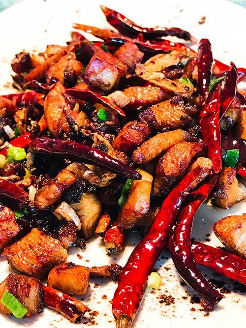 Pollo chongqing la zi ji